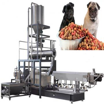 Chinese Shandong Shenrun Vegetable Corn Wheat Materials Dry Puffed Dog Kibbles Snacks Cat Food Fish Feed Manufacturing Equipment