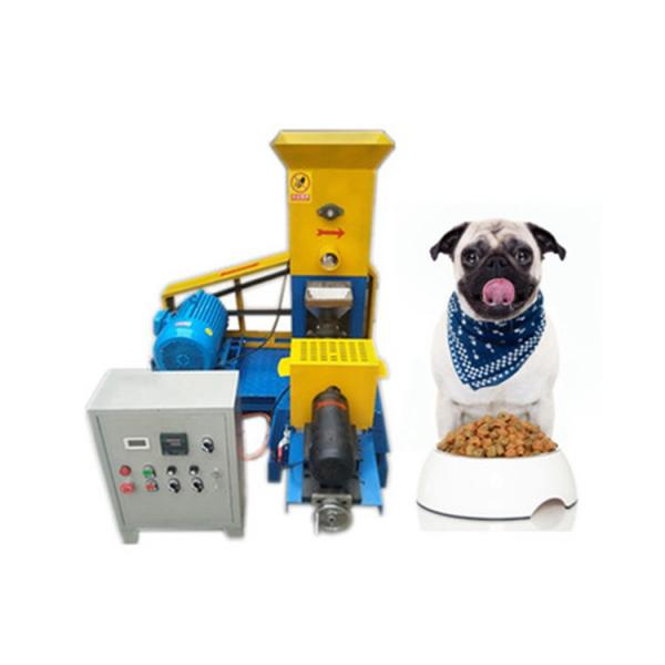 High Efficiency Good Quality Good Price Industrial Dog Food Extruder Pellet Making Machine Dry Pet Chew Making Machine