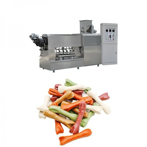 2020 hot sales automatic single or double color Dog chews and dog treats food machine processing line