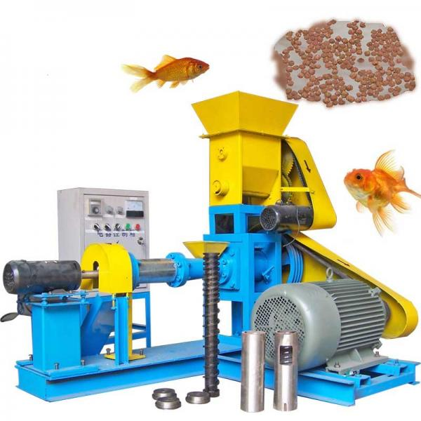2019 New Industrial Price Floating Fish Feed Machinery