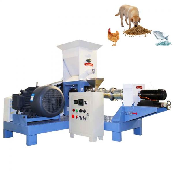 New products multi-functional dry pet food processing line dog cat food making machine with double screw extruder