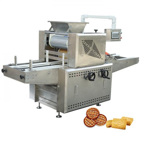 Fully Automatic Oven Industrial Dog Biscuits Making Machine